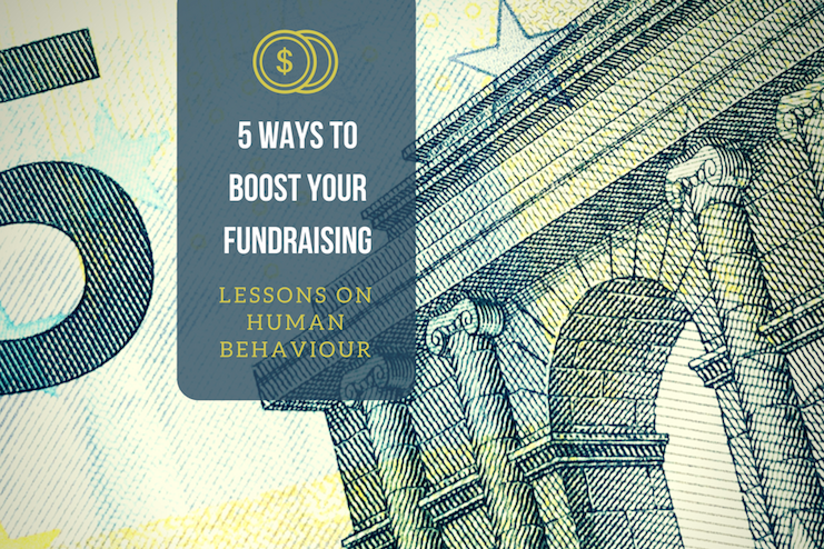5 ways to boost your fundraising logo